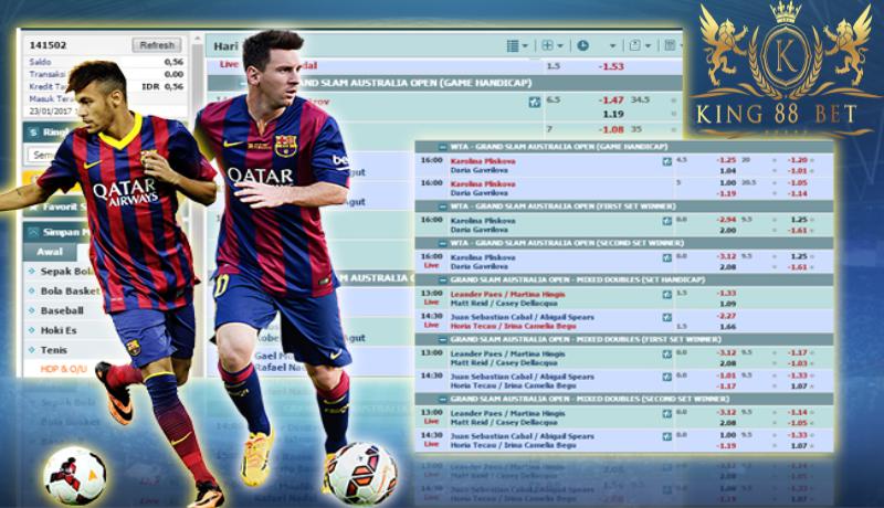 Judi Bola Online Terbaik dengan fitur terlengkap